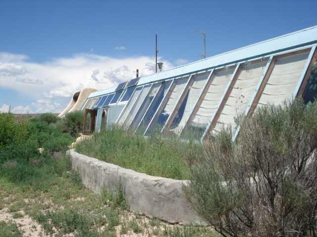 Earth ship Taos NM